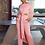 Thumbnail: Casual Solid Loose Loungewear Matching Sets for Women
