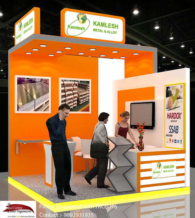 Stall designs view Exhibition stall Design by The Red Carpet Event Organizers 9892931935