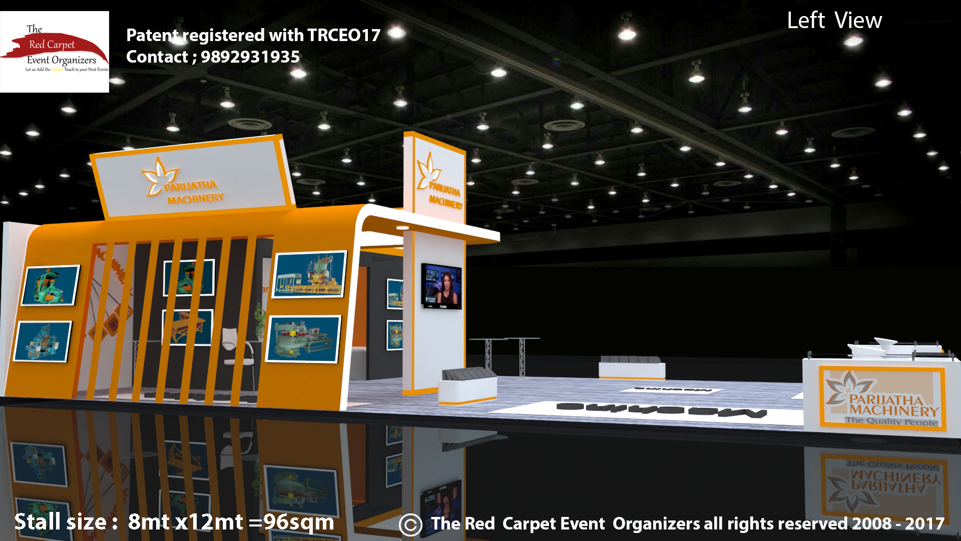 Exhibition Stall Size : Exhibition stall design fabricators the red carpet event organizers