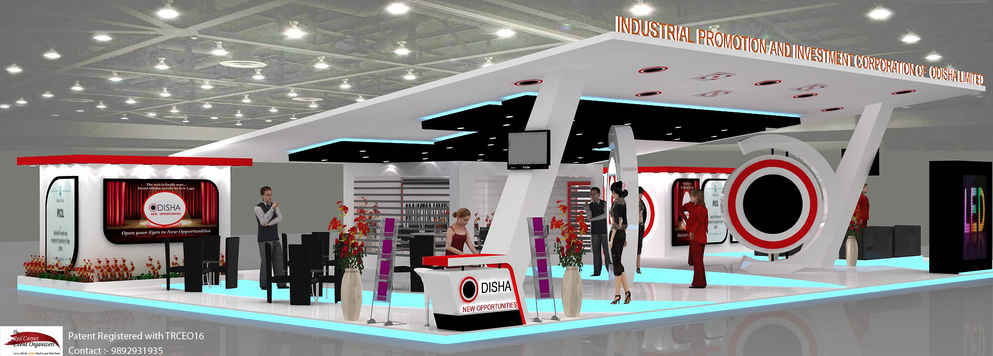Exhibition Booth . 9892931935