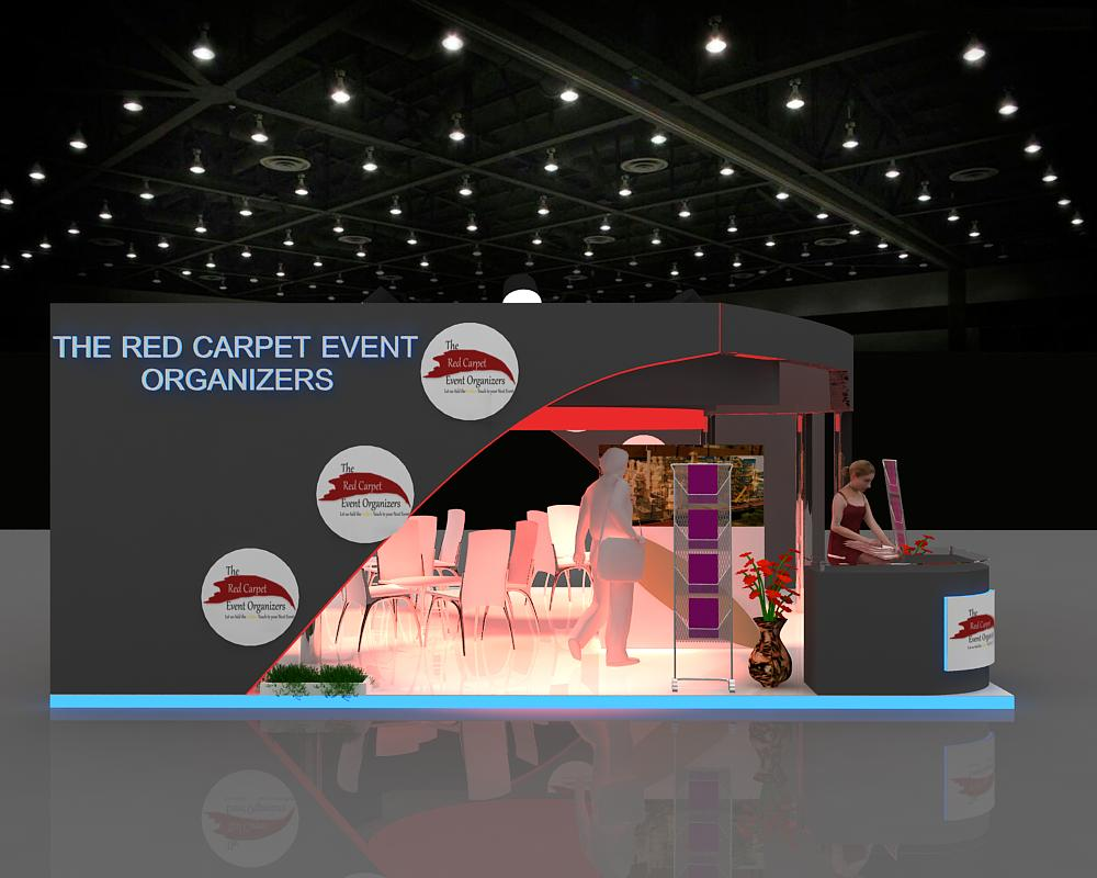 Exhibition Stand by The Red Carpet
