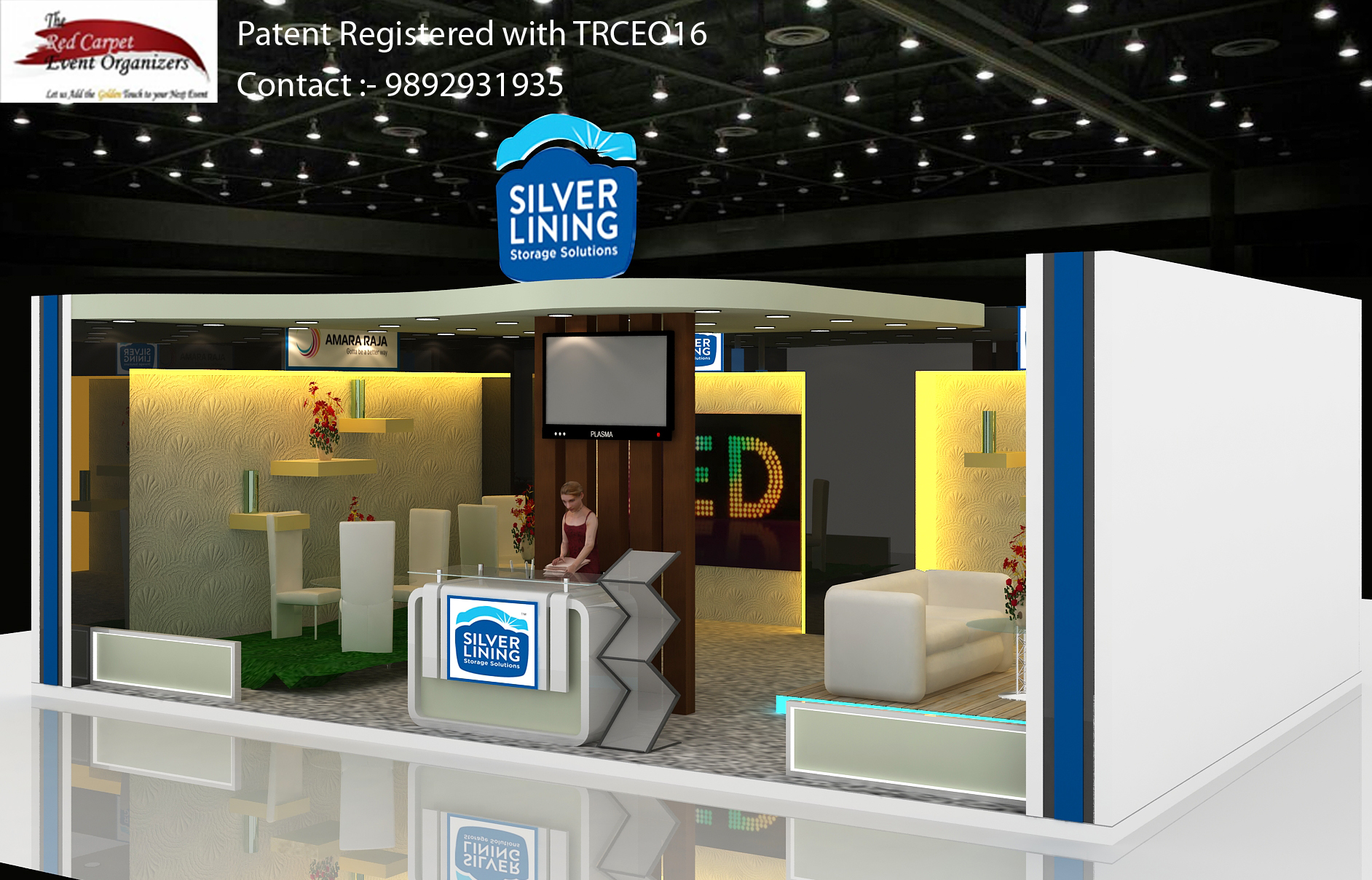Exhibition Stall Design And Fabrication In : Exhibition stall design fabricators the red carpet event organizers