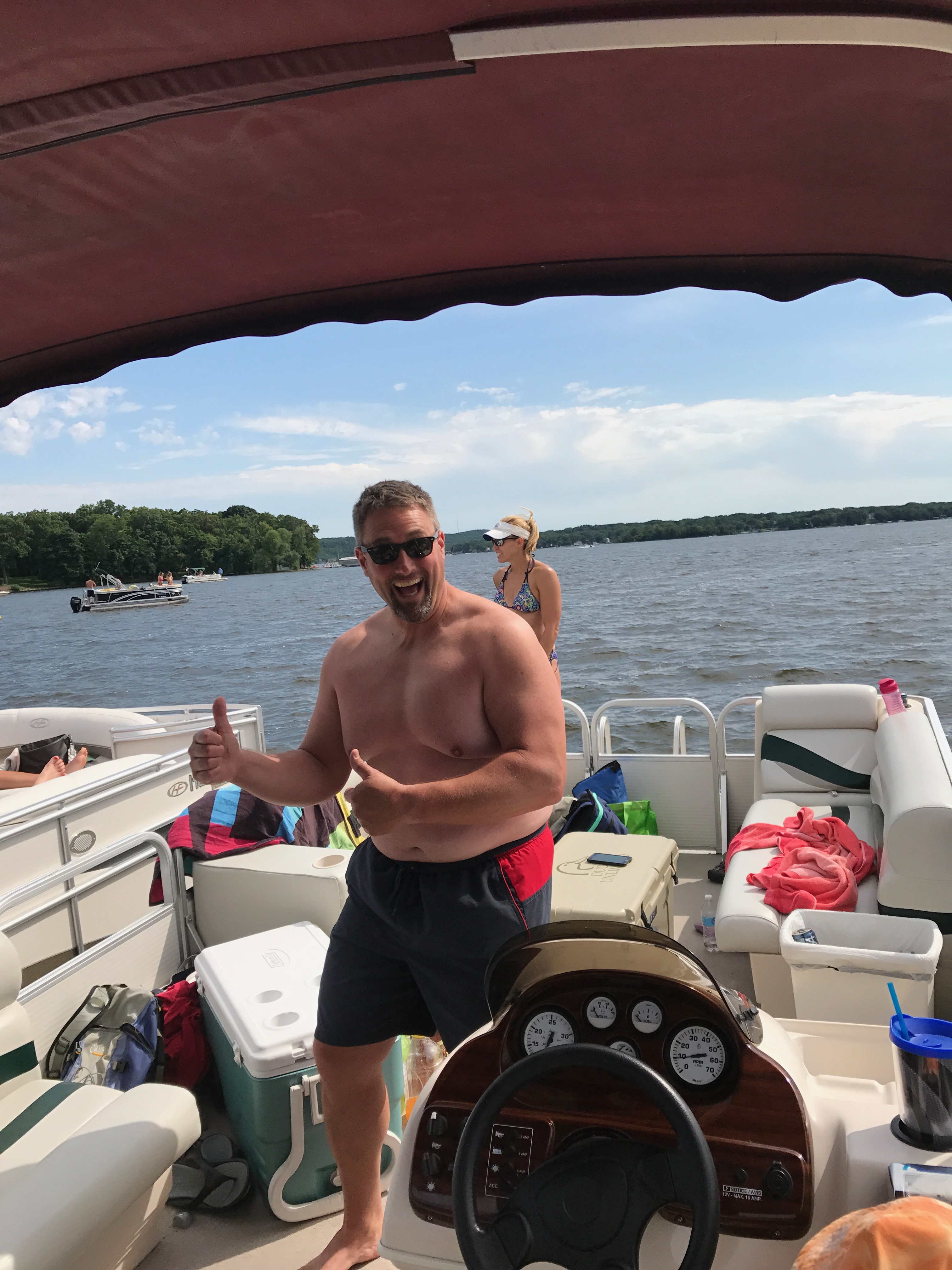 Lt Jerry's Pontoon Ride