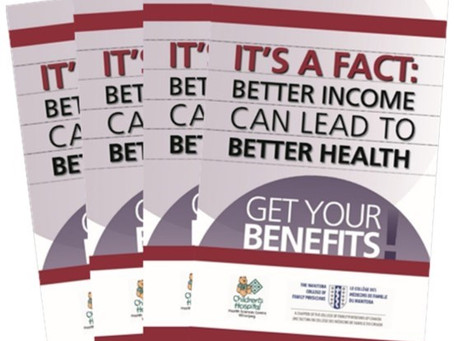 New version of the Get Your Benefits! booklet