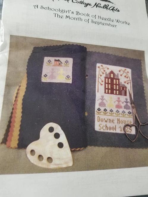 A Schoolgirl's Book of Needleworke (September) - Island Cottage Needlearts