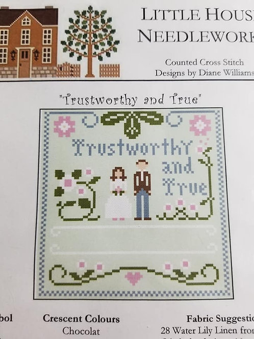 Trustworthy and True - Little House Needleworks