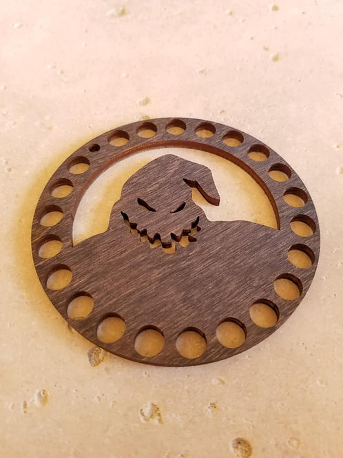 """Oogie Boogie"" Thread Organizer - Primitive & Wood"