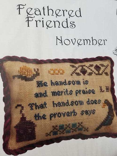 Feathered Friends - Cherished Stitches