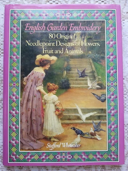 English Garden Embroidery - Charity Item