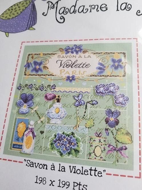 Savon a la Violette - Madame La Fee