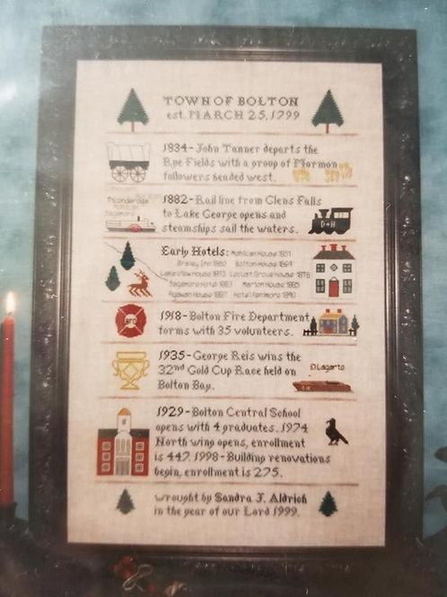 Bolton Bicentennial Sampler - Sandi Aldrich