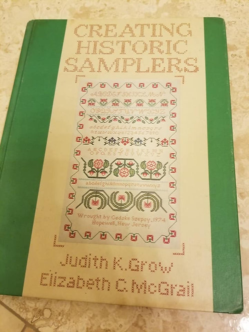 Creating Historic Samplers - Charity Item