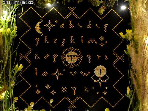 Night Alphabet - PDF