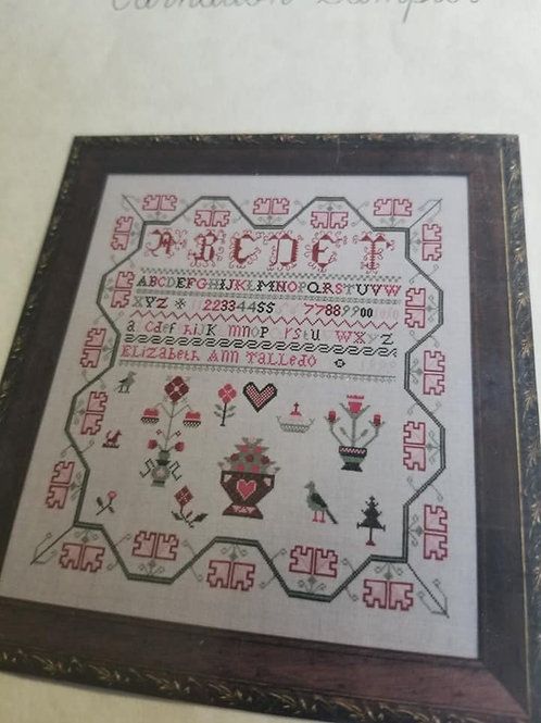 Carnation Sampler - Finger Work