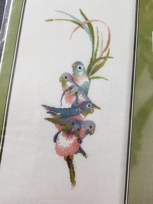 Rainbow Birds - Valerie Pfeiffer
