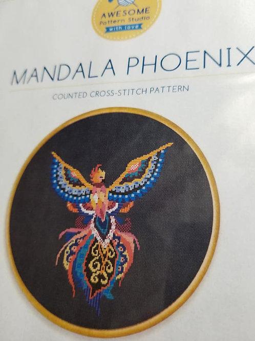 Mandala Phoenix - Awesome Pattern Studio