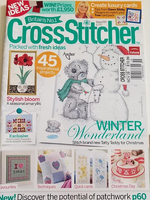 Cross Stitcher - November 2009
