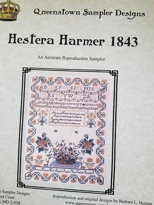 Hestera Harmer 1843 - Queenstown Sampler Designs