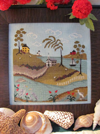 The Tidal River #3 - By The Bay Needleart