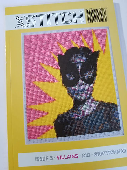 XStitch Magazine - Heroes & Villains