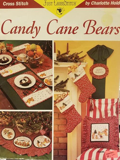Candy Cane Bears - $2 Charts