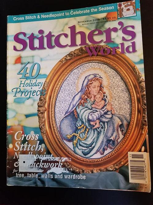 Stitcher's World - November 2000