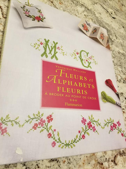 Flowers and Alphabets - Charity Item