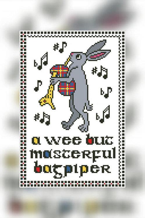 Masterful Bagpiper - Arelate Studio