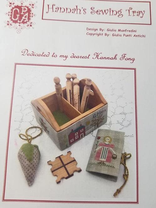 Hannah's Sewing Tray - Giulia Punti Antichi