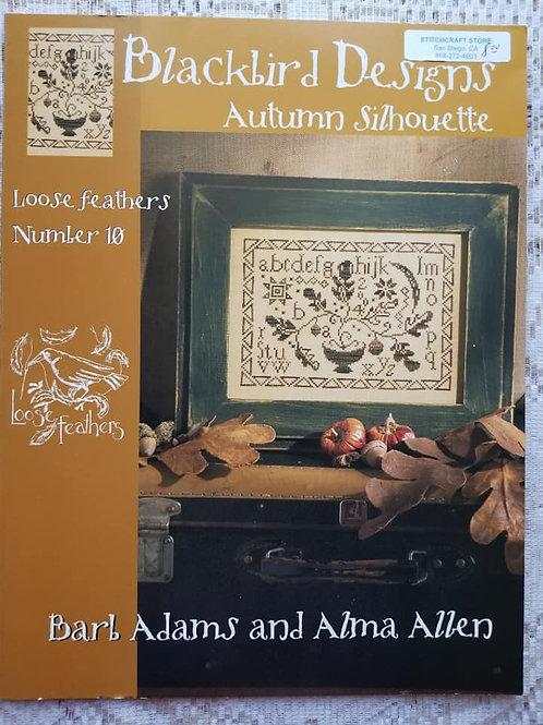 Autumn Silhouette - Blackbird Designs