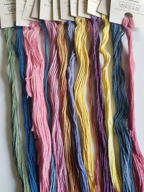 Assortment of Weeks Dye Works (Set of 24)