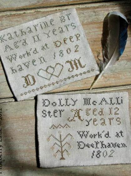 *Deephaven Marking Samplers - Pineberry Lane