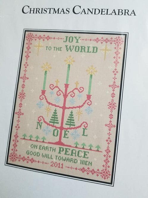 *Christmas Candelabra - CW Designs