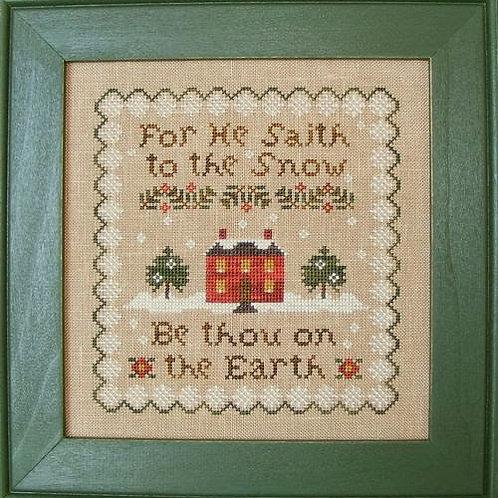*He Saith To The Snow - C Street Samplerworks