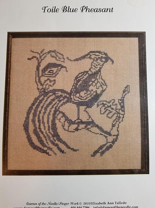 Toile Blue Pheasant - Dames of the Needle