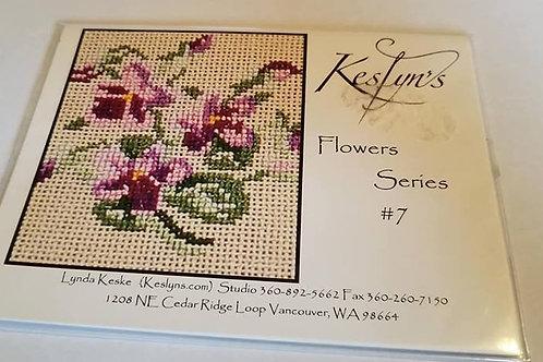 Flowers Series #7 - $2 Chart