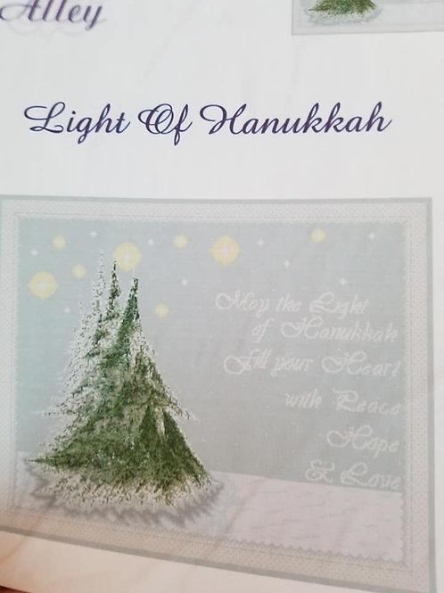 Light of Hanukkah - $2 Chart