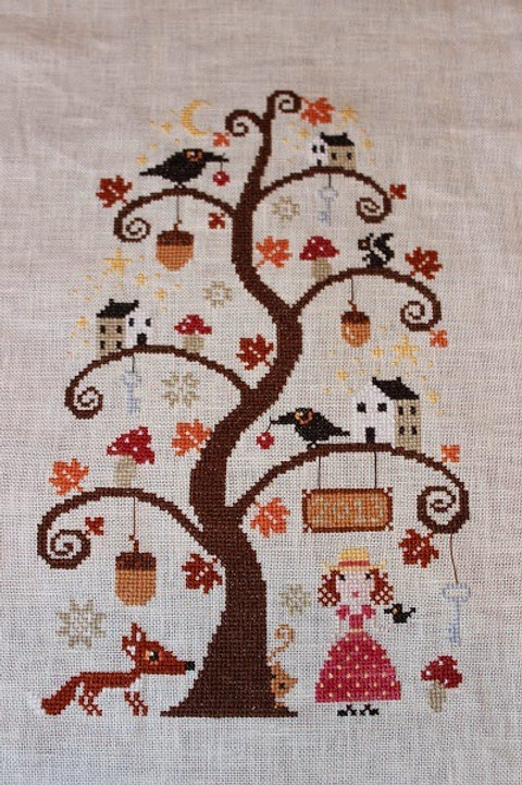 *Autumn Tree - Barbara Ana Designs