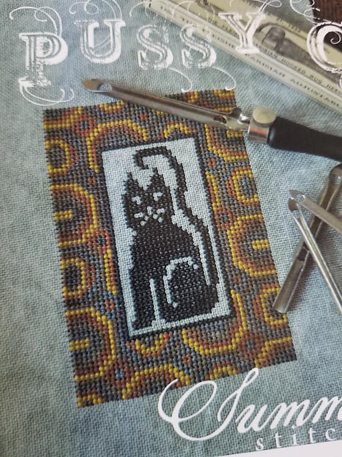 Pussy Cat - Summer House Stitche Workes