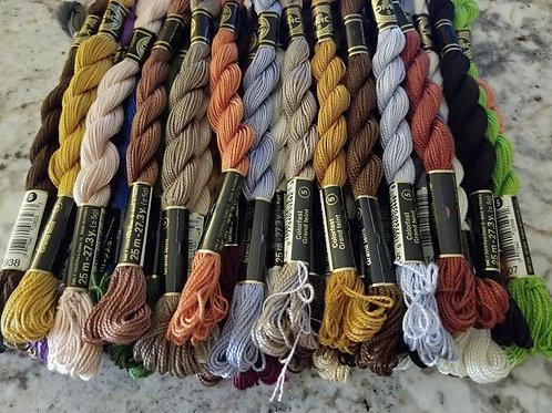 DMC Perle Cotton #5 (Set of 43)