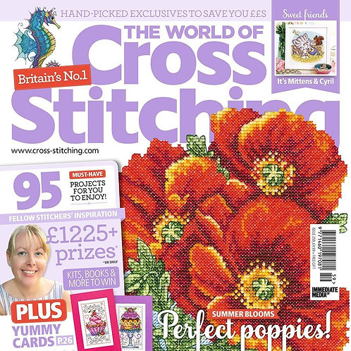 The World of Cross Stitching - Poppies