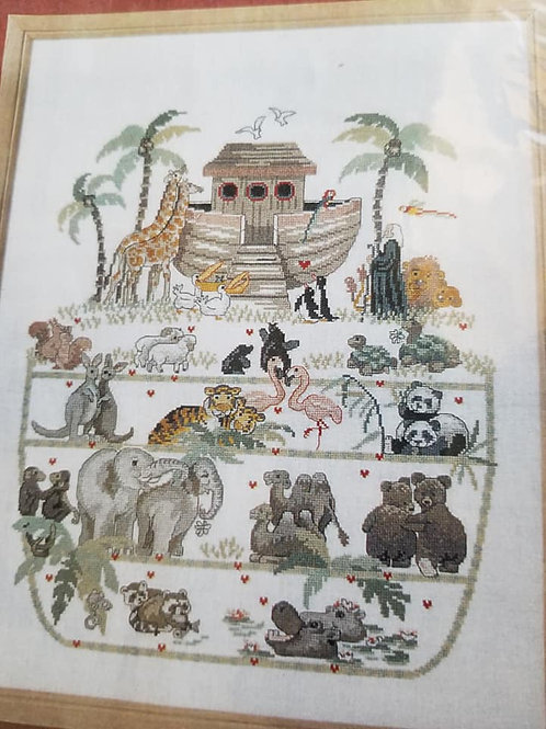 Noah's Ark - DMC Chart