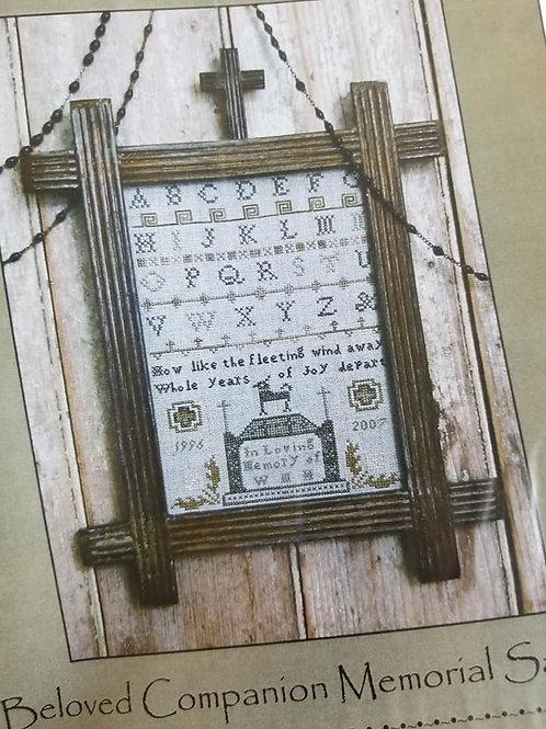 *Beloved Companion Memorial Sampler - Pineberry Lane