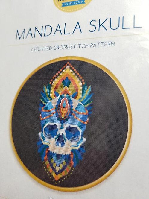 Mandala Skull - Awesome Pattern Studio