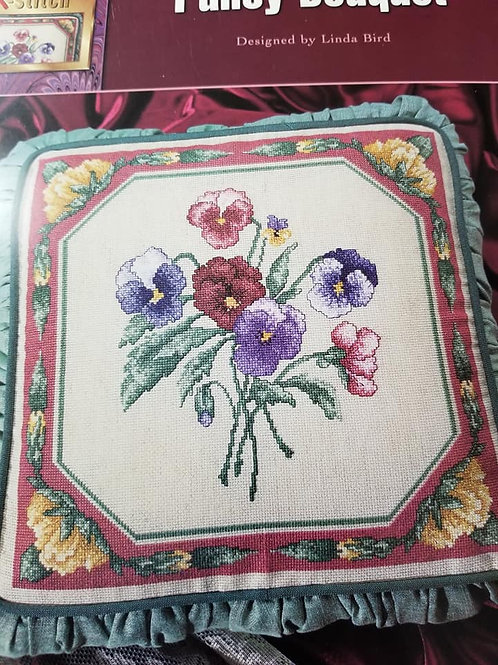 Pansy Bouquet - Stitch World