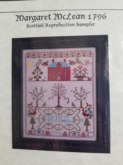Margaret McLean 1796 - Samplers Revisited