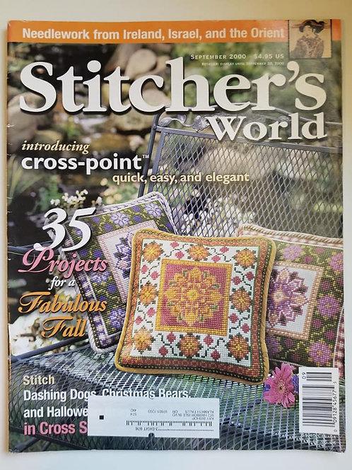 Stitcher's World - Sept. 2000
