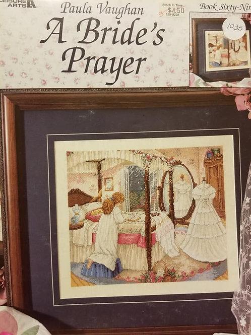 A Bride's Prayer - $2 Charts