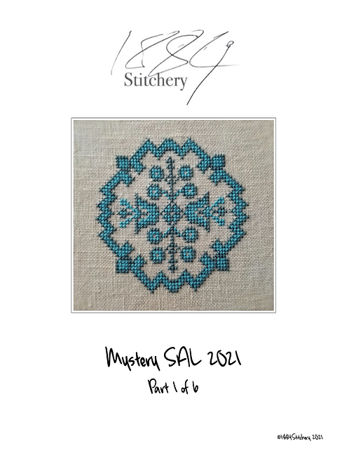 1884 Stitchery Stitch-A-Long Six Parts - PDF
