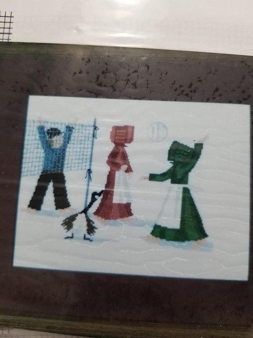 Volleyball At Recess - Lynn's Prints